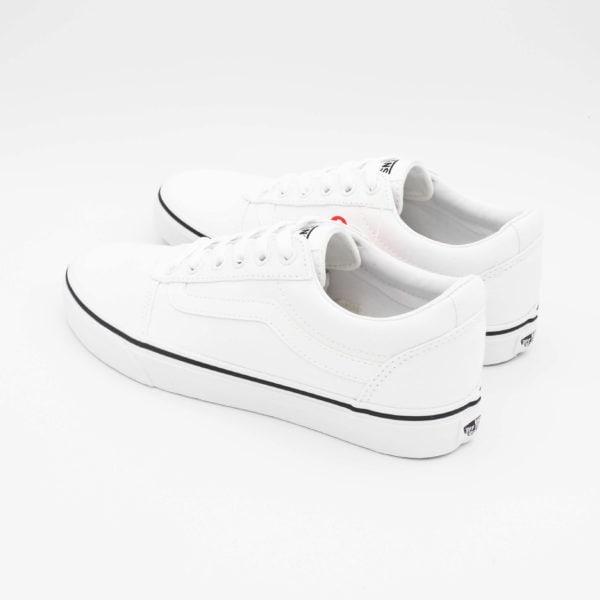 Vans Ward Ragazzo total white
