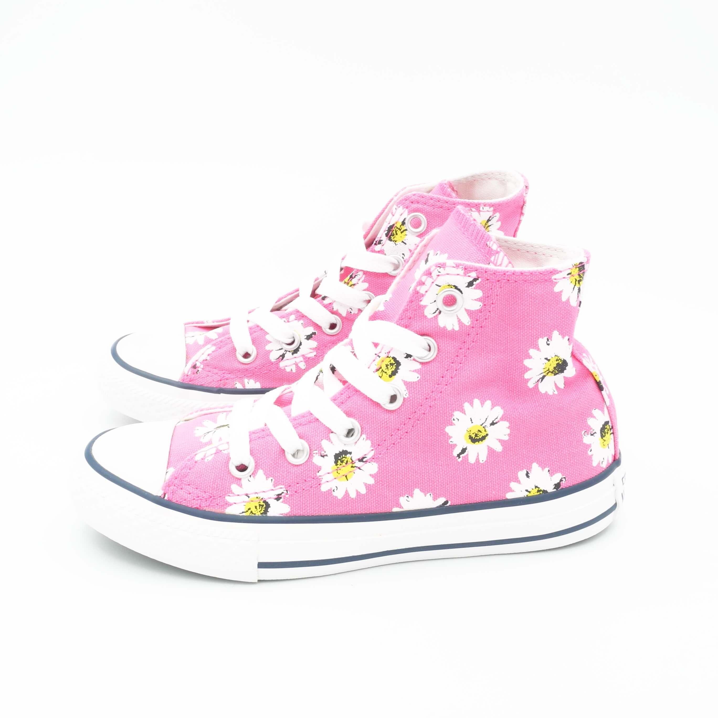 converse bambina fiori