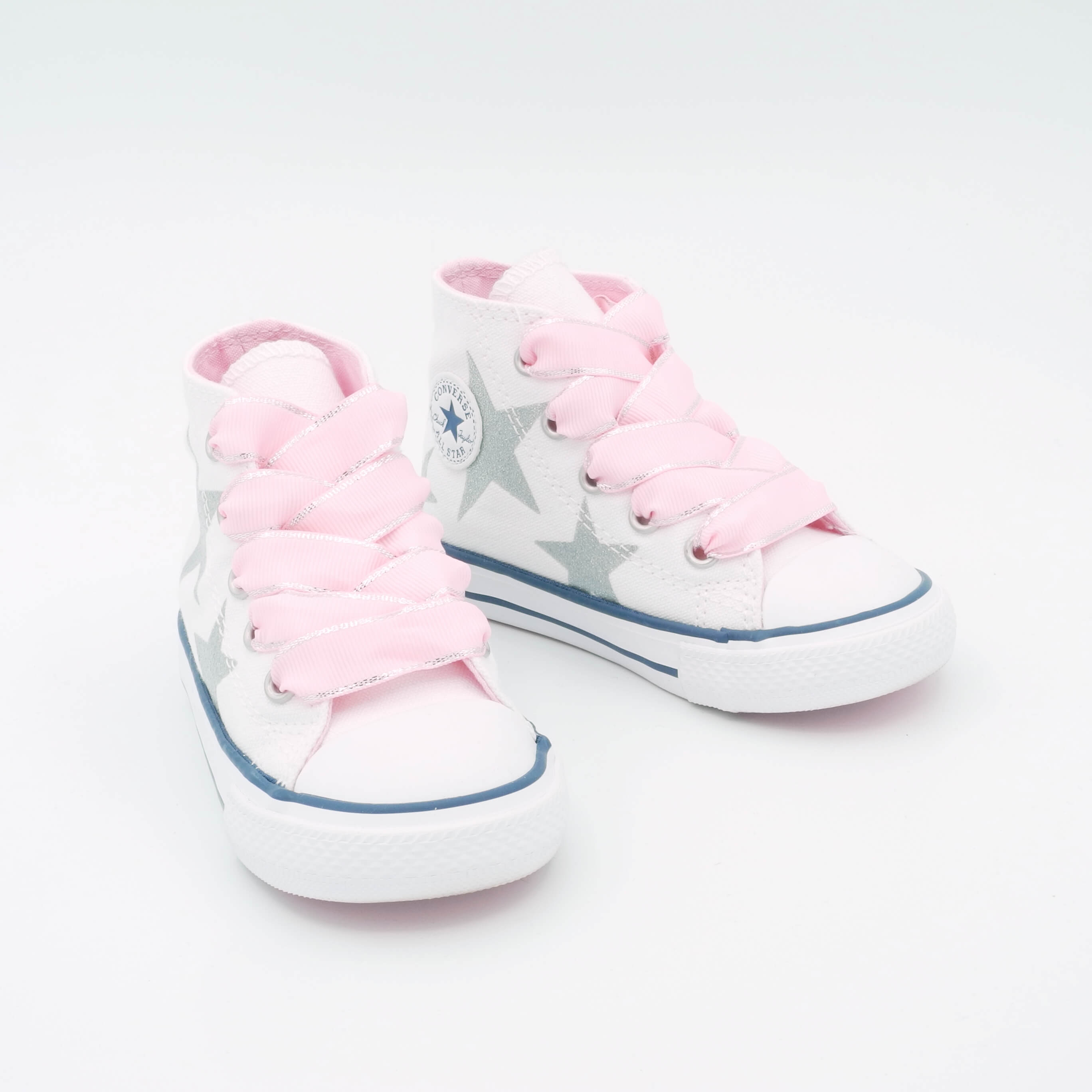 Converse Chuck Taylor Infant Bambina Bianco Stelline 764043C