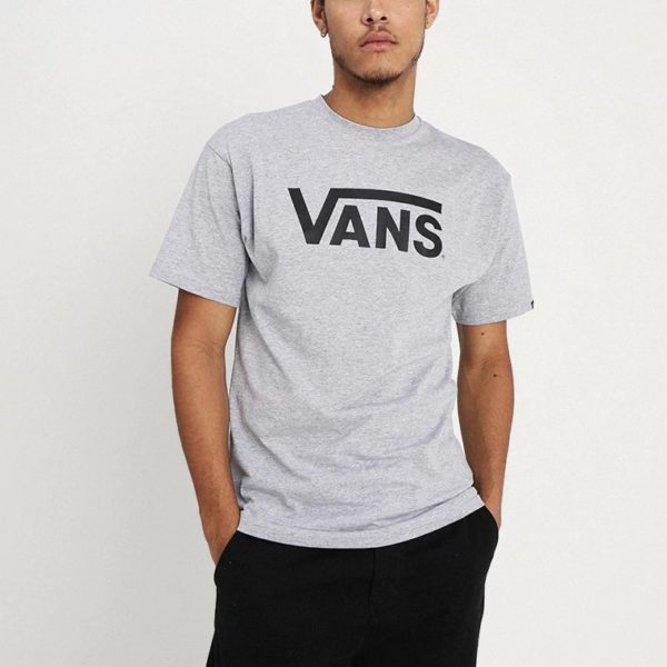 T-shirt Vans CLASSIC Athletic Heather/Black VN000GGGATJ1