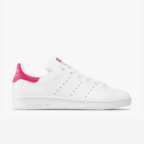 adidas-stan-smith-bianco-fucsia