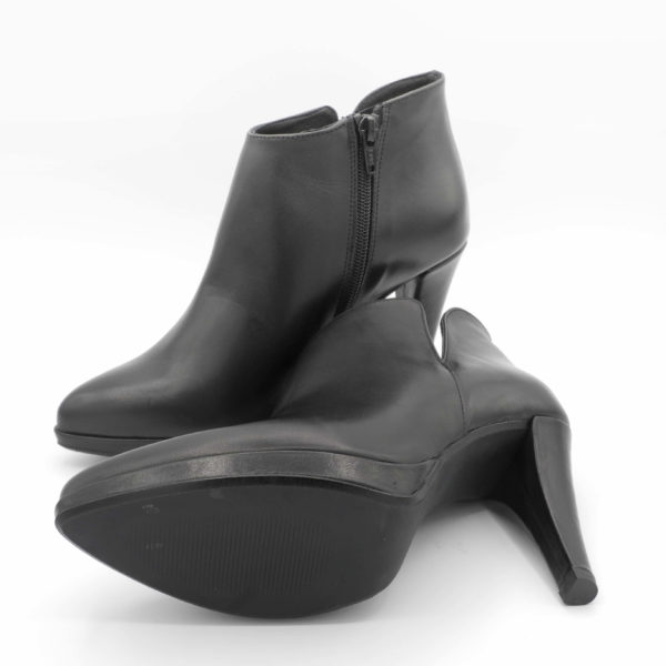 ankle boots, tronchetto, pelle nera
