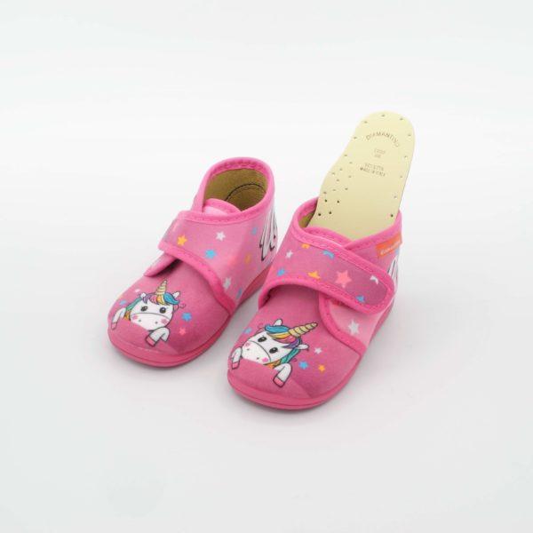 pantofoline bimba unicorno