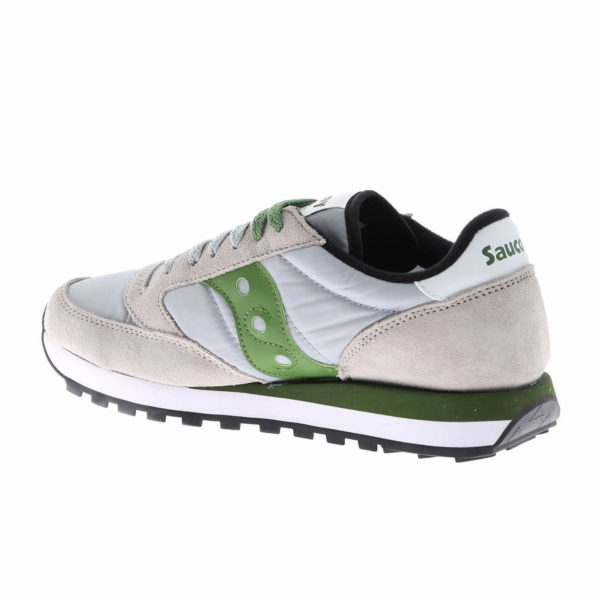 saucony jazz grey green