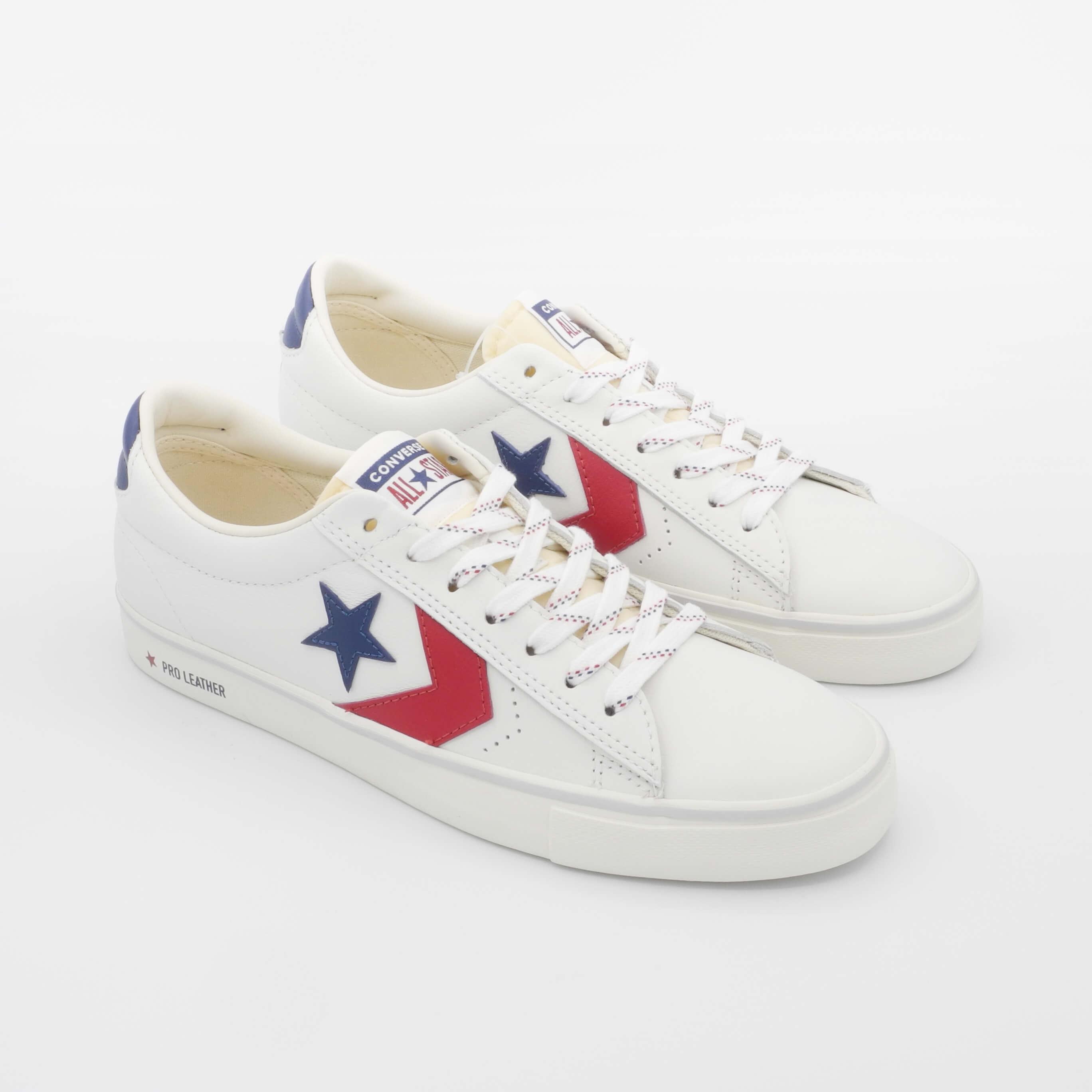 Sneakers pelle bianca Converse Pro Leather Vulc Ox 164034C