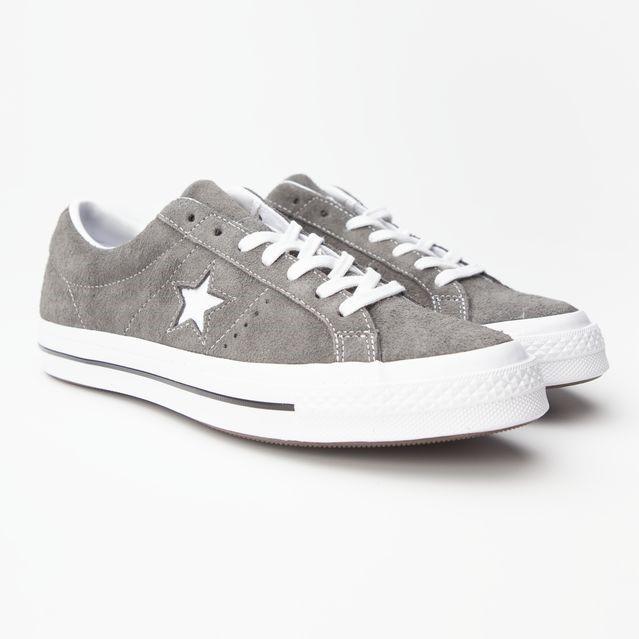 Sneakers Converse One Star Uomo in camoscio Grigio