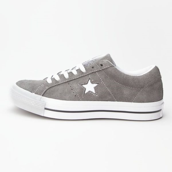 Converse suede grey one star