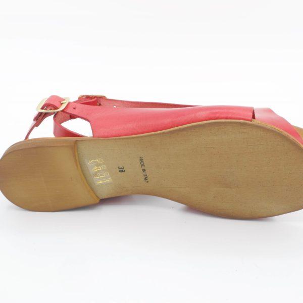 sandali-bassi-basic-pelle-rossa