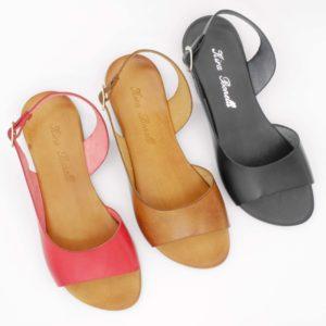 sandali-bassi-basic-pelle-cuoio-rosso-nero