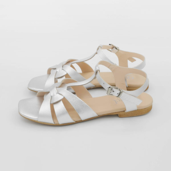 sandalo-flat-elegante-argento