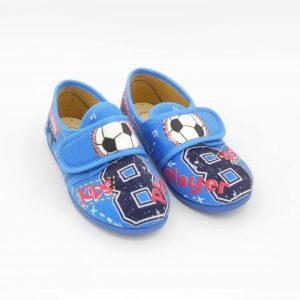 pantofole-basse-bambino-diamantino-blu-fantasia-pallone-calcio