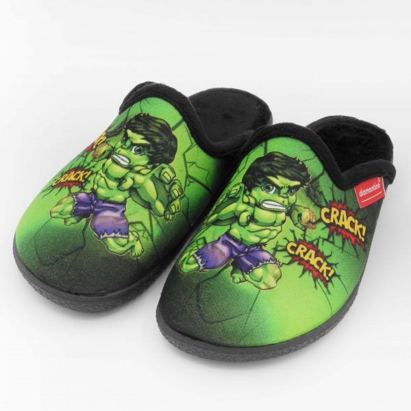 ciabatte-invernali-bambino-diamantino-verde-fantasia-hulk