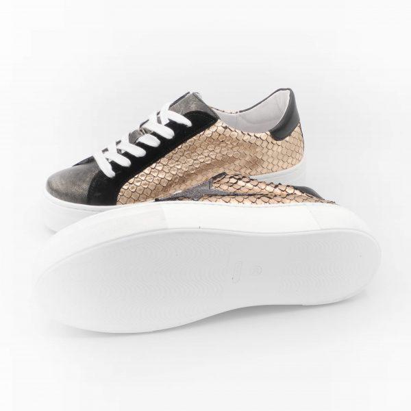sneakers-donna-in-pelle-color-rame-metallizzato-con-platform