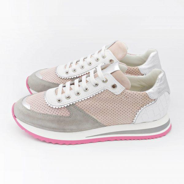 sneakers-donna-in-pelle-scamosciata-rosa-con-tomaia-forata
