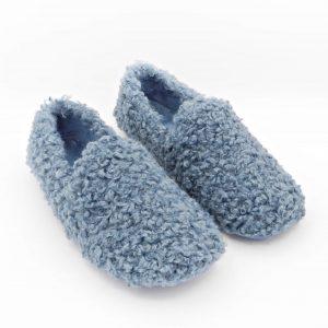 pantofole-invernali-diamante-donna-dall-effetto-vello-azzurro