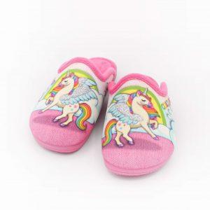 ciabatte-invernali-bambina-diamantino-rosa-fantasia-unicorno